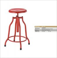 stainless steel revolving round stool
