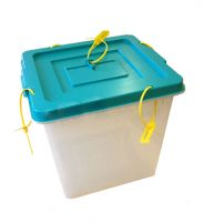 80L PVC voting box  with lock