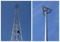 telecommunication tower steel pole
