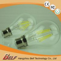E27 8W Wholesale edison Aluminum base housing indoor a60 led filament bulb