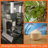 Automatic stainless steel green coconut peeling machine