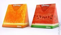 Wedge tissue box