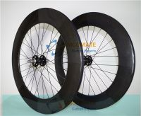CARBON FIXED GEAR WHEEL 700C CARBON ROAD BICYCLE WHEEL CERAMIC HUB CARBON WHEELS 88MM CLINCHER STRAIT PULL/XMCOMATE