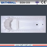 Factory built in fiber bathtub with seat for export