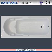 Drop in acrylic fiberglass bathtub for European