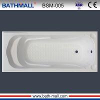 Popular style drop in acrylic bathtub for adults