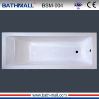 Indoor square built in resin bathtub for purchase