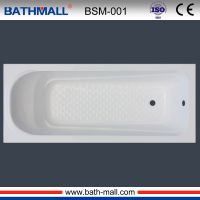 Simple built in acrylic bathtub for fat people
