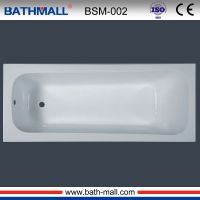 2016 indoor white clear acrylic fiberglass bathtub
