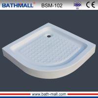 Hot sale fiberglass shower tray for shower room