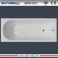Cheap popular built in plastic bathtub for bathing