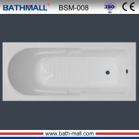 High quality white bathtub tub with customized service