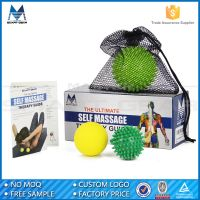 MSG 2 of 2.4'' & 1 of 3.5'' Myofascial Release Hand Massage Ball