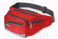 2016 OEM/ODM customized sports waist bag polyester bum bag fashion money belt pack