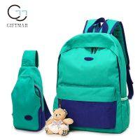 new bag polyester backpack water repellent shoulder outdoor backpack