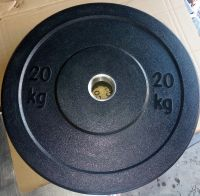 Weight lifting Fitness Equipment Olympic Rubber Barbell Plate
