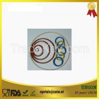 Food Grade Silicone O ring Colored Sealing round silicone gasket