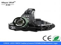 Most Powerful Rechargeable Zoom 10w LED Headlamp