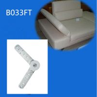 Metal  hinge for sofa headrest or armrest B033FT