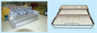 Adjustable metal sofa bed frame A011