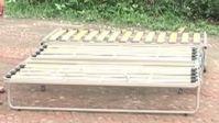 Adjustable metal sofa bed frame A011