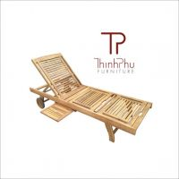 FAMIGO - Wood Outdoor Sun Lounger - Best selling furniture