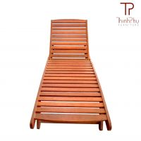 FLORY Sunbed- Top grade Acacia wood - Garden Furniture