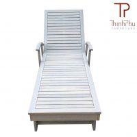 TAMELES - Wood Outdoor Sun Lounger - Furniture import from Vietnam