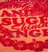 worldwide fast-selling t-shirts silkscreen print flock paste