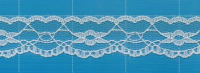 High quality non-stretch lace trimming