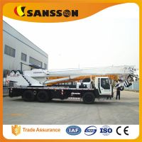Shandong sansson QLY20 truck crane mobile 20 tons