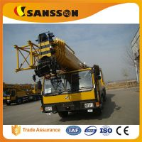 Shandong sansson QLY50 truck crane mobile 50 tons