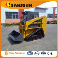 Chinese popular small ton TS50 crawler skid steering loaders