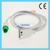 Bruker 12 pins 3-lead ecg trunk cable,IEC,U324-12D3I