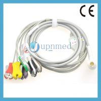 Corpuls 11 pins 6-lead ecg cable,Clip,IEC,U383-16CI