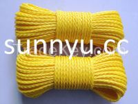 hollow braided rope