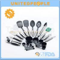 Amazon hot 22 Piece kitchen cooking utensil set