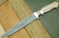 Damascus handmade knives