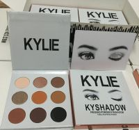 2016 new KYLIE Kyshadow Pressed Powder Eyeshadow Cosmetics Bronze Palette 9 colors popular in usa