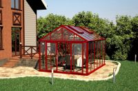 Aluminum Greenhouse winter house green house