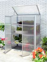 Aluminum cold frame greenhouse garden tool house for plants