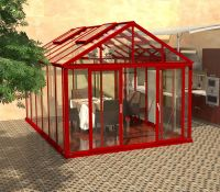 Aluminum Greenhouse winter house green house