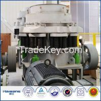 Hydraulic Mobile Stone Cone Crusher For Coal Washing Plant