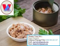 Canned Tuna In Vegetable Oil / In Tomato sauce