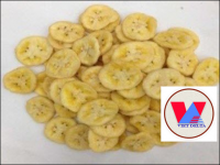 Crispy Dried Banana Chips For Instant Snack