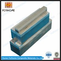 Aluminum-stainless steel transition joint for shipbuilding