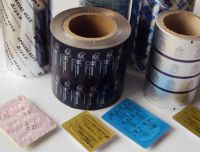 Printed / Unprinted PTP aluminum blister foil for pharmaceutical pills capsules tablets packaging