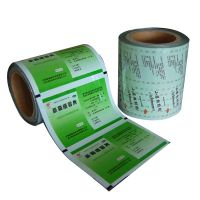 Quality pe pet laminated film with all kinds printing for pharmaceutical packing pouches