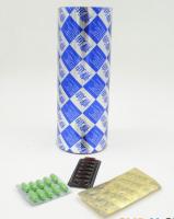 Coloured pharmaceutical aluminium foil/ PTP aluminum foil used for tablet packing