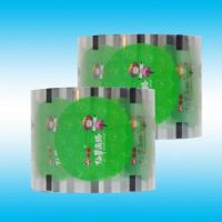 Best quality soft plastic pet/ny/pe laminated food packing printed roll film for water pouch